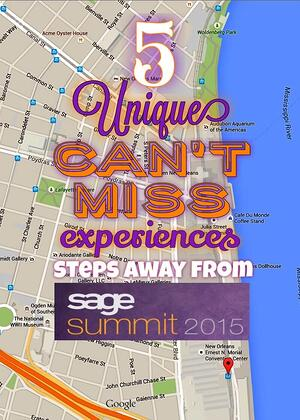 Klear systems blog inside scoop on erp crm other business 5 unique experiences close to sage summit 2015 fandeluxe Choice Image