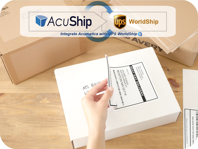 AcuShip integrates with UPS for Acumatica ERP.png