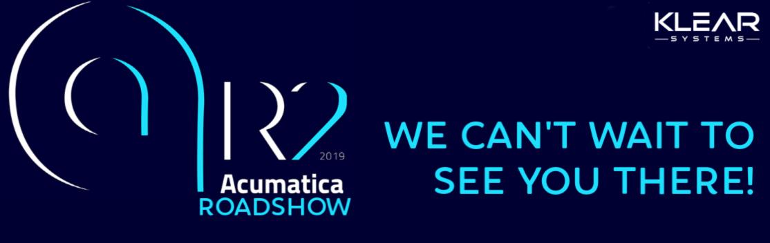 Acumatica 2019 R2 Roadshow Footer Banner