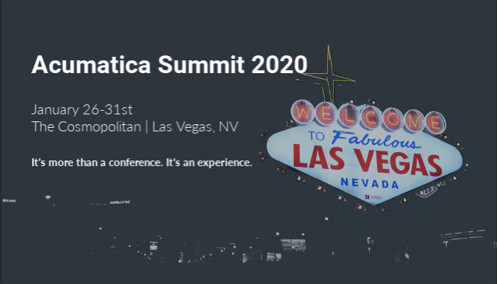 Acumatica Summit 2020 Newsletter