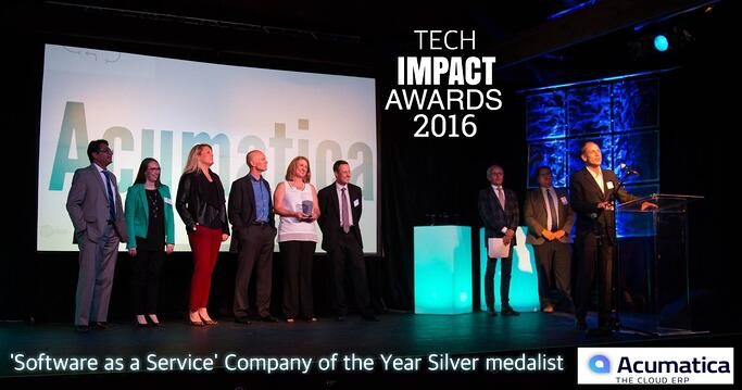 Acumatica wins silver in 'SaaS' Company of the Year