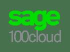 Sage 100cloud logo stacked
