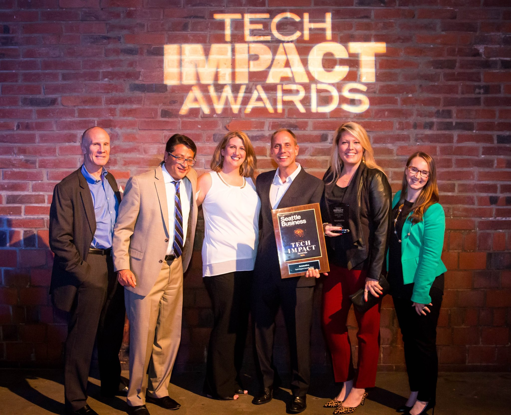 Seattle Busines Magazine Tech Impact Awards 2016