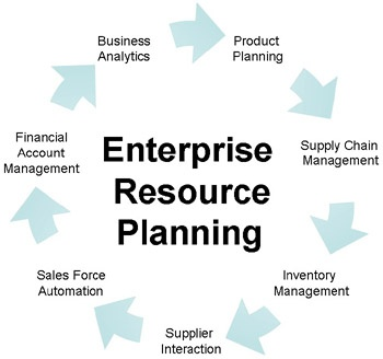 The cycle of Enterprise Resource Planning