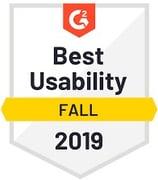 g2 best usability fall 2019