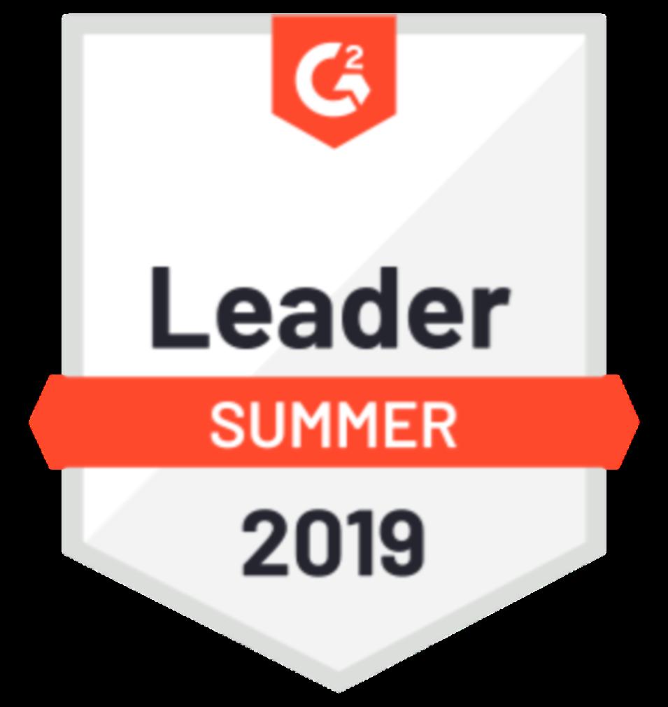 g2 crowd summer 2019 leader