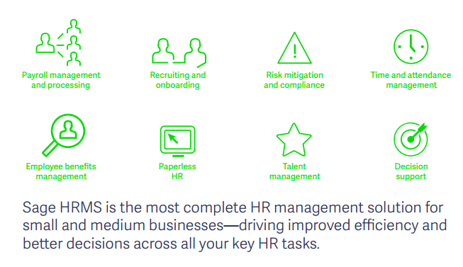 Sage 100 ERP HR Management Solution