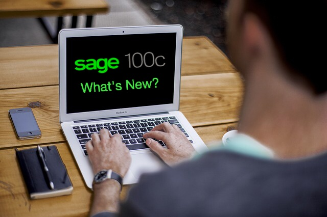 Sage 100c: What is New