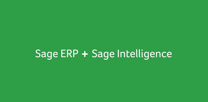 Sage 100 ERP Intelligence Reports Module for Accounting & Finance