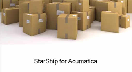 Starship Shipping Automation for Acumatica